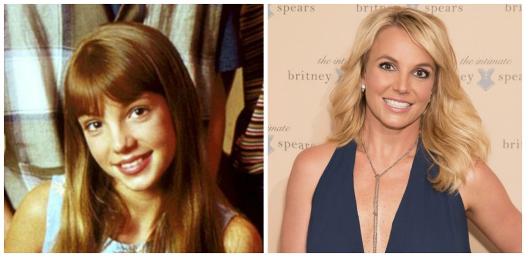 Britney Spears Young - Child Stars Then and Now