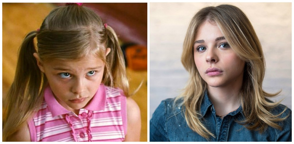 Chloe Grace Moretz Young - Child Stars Then and Now