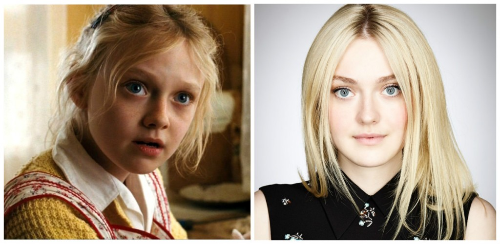 Dakota Fanning Young - Child Stars Then and Now