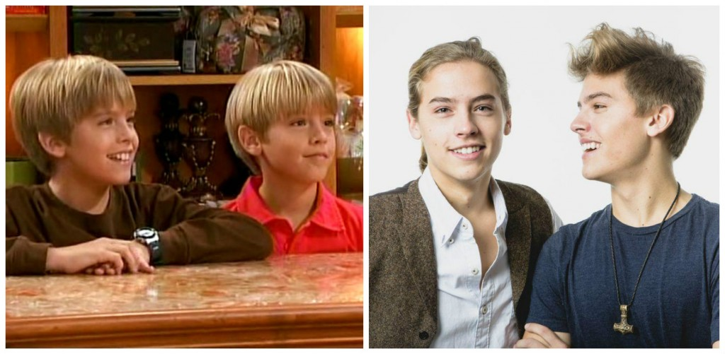 Dylan and Cole Sprouse Young - Child Stars Then and Now