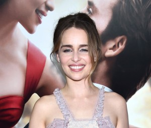 Emilia Clarke at the New York premiere of Me Before You on Monday May 23, 2016 at AMC Leows Lincoln Square, New York City.