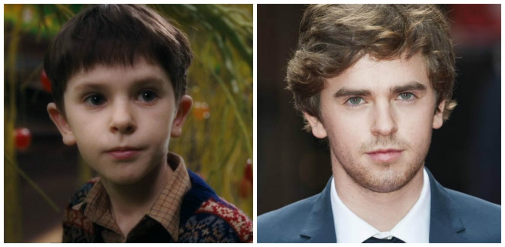 Freddie Highmore Young - Child Stars Then and Now