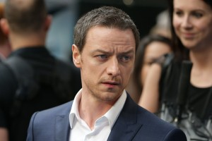 James McAvoy at the X-Men: Apocalypse Global Fan Screening held at BFI IMAX, Southbank, Waterloo, London on Monday 9th May 2016.