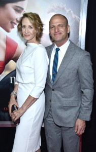 Janet McTeer and Joe Coleman at the New York premiere of Me Before You on Monday May 23, 2016 at AMC Leows Lincoln Square, New York City.