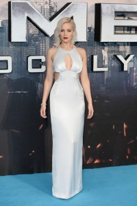 Jennifer Lawrence at the X-Men: Apocalypse Global Fan Screening held at BFI IMAX, Southbank, Waterloo, London on Monday 9th May 2016.