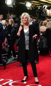 Joanna Lumley at the European premiere of Me Before You held at The Curzon Mayfair, London on Wedneday 25th May 2016.