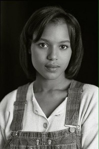 Actress Kerry Washington headshot