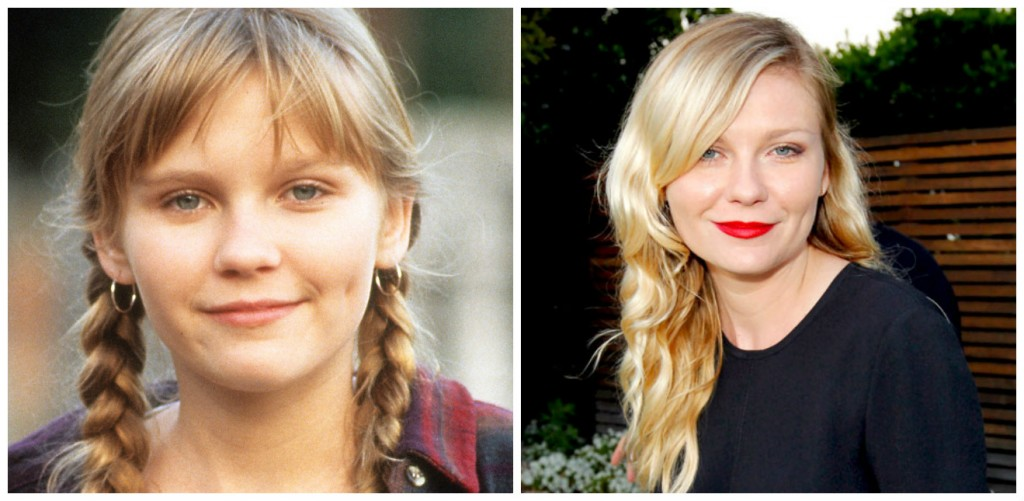 Kirsten Dunst Young - Child Stars Then and Now