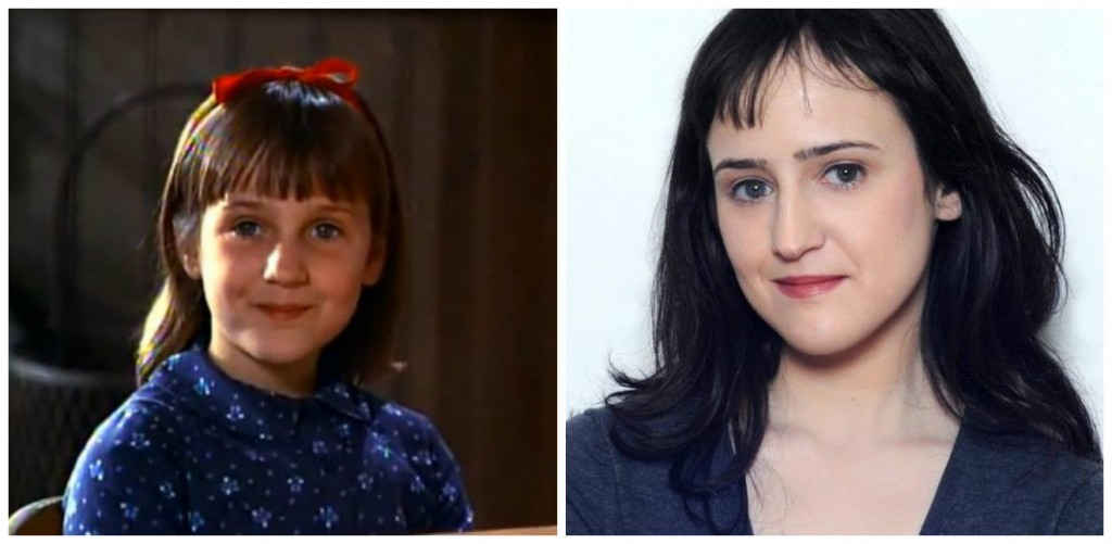 Mara Wilson Young - Child Stars Then and Now