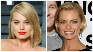 Margot Robbie and Jaime Pressly Celebrity Look A Likes