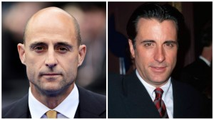 Mark Strong and Andy Garcia Celebrity Look A Likes