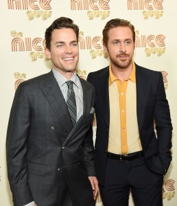 Matt Bomer & Ryan Gosling at The Nice Guys New York screening held at Metrograph theatre in New York City on Thursday 12th May 2016