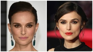 Natalie Portman and Keira Knighley Celebrity Look A Likes