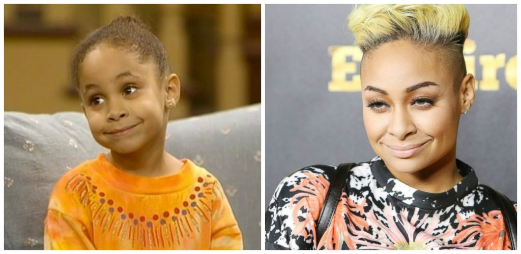 Raven Symone Young - Child Stars Then and Now