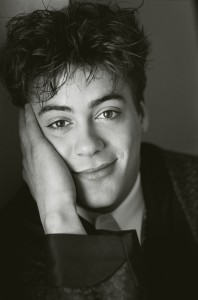 Actor Robert Downey Jr headshot