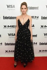 Rose Byrne at the New York screening of X-Men: Apocalypse held at Entertainment Weekly on Tuesday May 24, 2016.