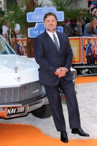Russell Crowe at The Nice Guys UK Premiere held at the Odeon, Leicester Square, London on Thursday May 19, 2016.