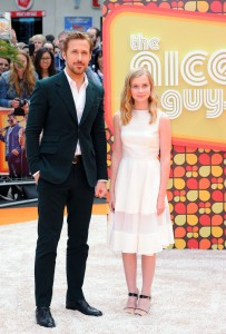 Ryan Gosling and Angourie Rice at The Nice Guys UK Premiere held at the Odeon, Leicester Square, London on Thursday May 19, 2016.