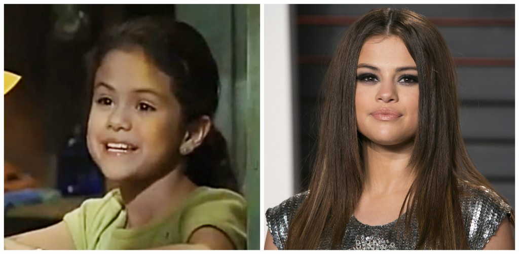 Selena Gomez Young - Child Stars Then and Now