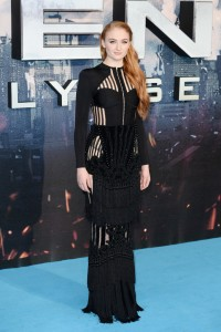 Sophie Turner at the X-Men: Apocalypse Global Fan Screening held at BFI IMAX, Southbank, Waterloo, London on Monday 9th May 2016.