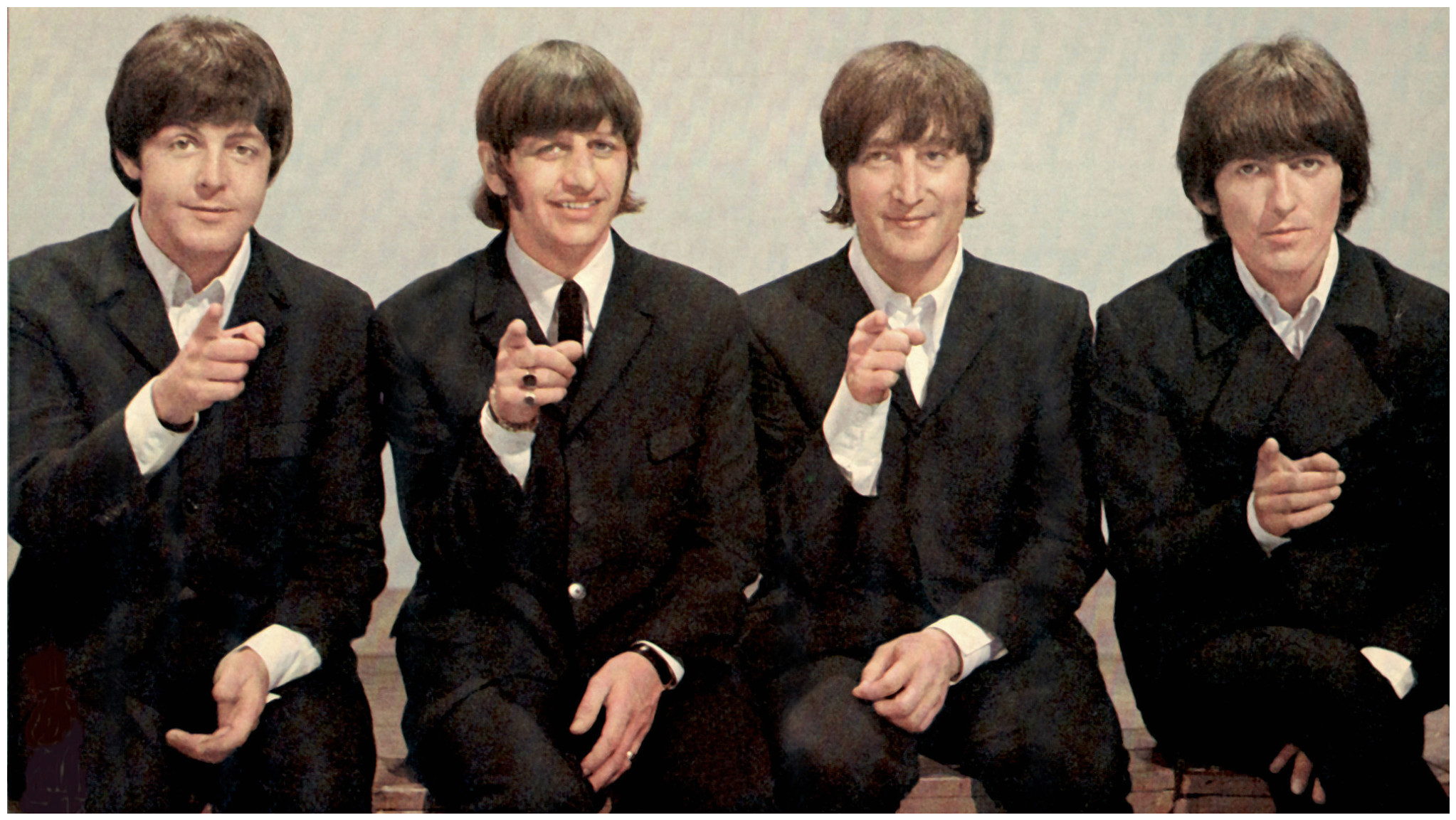 The Beatles win an Oscar