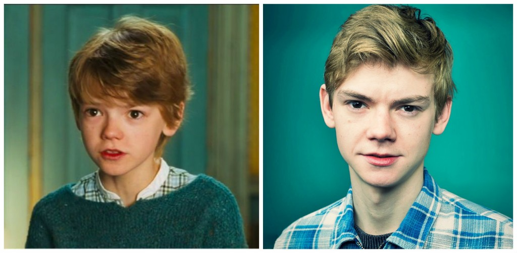 Thomas Sangster Young - Child Stars Then and Now