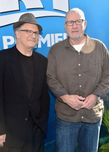 Albert Brooks and Ed O'Neill at the world premiere of Finding Dory on June 8, 2016 at the El Capitan Theatre, Hollywood Blvd, Los Angeles, CA.