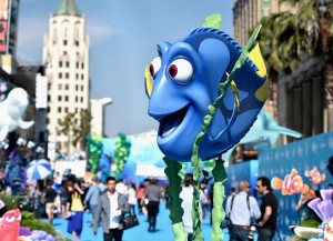 world premiere of Finding Dory on June 8, 2016 at the El Capitan Theatre, Hollywood Blvd, Los Angeles, CA.