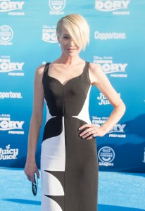 Portia de Rossi at the world premiere of Finding Dory on June 8, 2016 at the El Capitan Theatre, Hollywood Blvd, Los Angeles, CA.