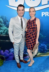 Ty and Holly Burrell at the world premiere of Finding Dory on June 8, 2016 at the El Capitan Theatre, Hollywood Blvd, Los Angeles, CA.