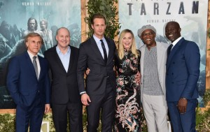 Cast and Director of The Legend of Tarzan at the Los Angeles premiere held at TCL Chinese Theatre, Hollywood Blvd on June 27, 2016.