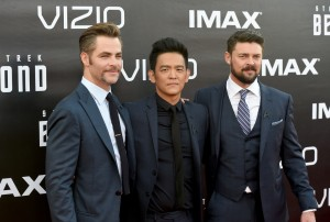 Chris Pine, John Cho & Karl Urban