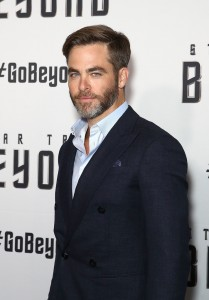 Chris Pine at the Australian premiere of Star Trek: Beyond held at The Entertainment Quarter, Moore Park, Sydney on July 7, 2016.