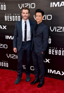 Chris Pine & John Cho