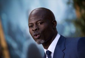 Djimon Hounsou at the Los Angeles premiere of The Legend of Tarzan held at TCL Chinese Theatre, Hollywood Blvd on June 27, 2016.