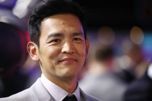 John Cho at the Australian premiere of Star Trek: Beyond held at The Entertainment Quarter, Moore Park, Sydney on July 7, 2016.
