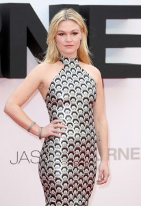 Julia Stiles at the European premiere of Jason Bourne held at the Odeon, Leicester Square, London on July 7, 2016.