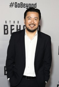 Justin Lin at the Australian premiere of Star Trek: Beyond held at The Entertainment Quarter, Moore Park, Sydney on July 7, 2016.
