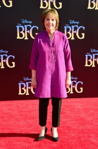 Penelope Wilton at the Los Angeles premiere of The BFG held at the El Capitan Theatre, Hollywood Blvd on Tuesday 21st June 2016.