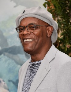 Samuel L. Jackson at the Los Angeles premiere of The Legend of Tarzan held at TCL Chinese Theatre, Hollywood Blvd on June 27, 2016.