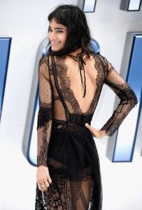 Sofia Boutella at the U.K. Film Premiere of Star Trek: Beyond held at Empire Cinema, Leicester Square, London of July 12, 2016.