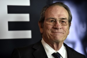 Tommy Lee Jones at the Las Vegas premiere of Jason Bourne.