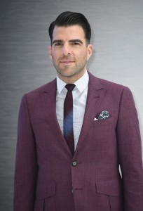 Zachary Quinto at the U.K. Film Premiere of Star Trek: Beyond held at Empire Cinema, Leicester Square, London of July 12, 2016.