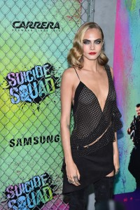 Cara Delevingne at the World premiere of Suicide Squad held at The Beacon Theatre, New York City on August 1, 2016.