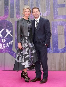 Deborah and Zack Snyder Suicide Squad London Premiere
