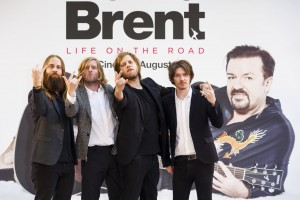 Foregone Conclusion at the U.K. film premiere of David Brent: Life on the Road held at Odeon, Leicester Square, London on Wednesday August 10, 2016.