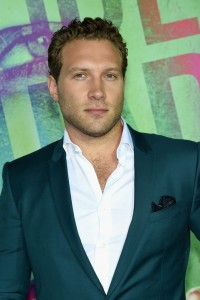 Jai Courtney at the World premiere of Suicide Squad held at The Beacon Theatre, New York City on August 1, 2016.