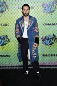 Jared Leto at the World premiere of Suicide Squad held at The Beacon Theatre, New York City on August 1, 2016.