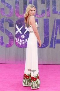 Margot Robbie Suicide Squad London Premiere