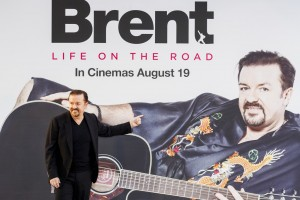 Ricky Gervais at the U.K. film premiere of David Brent: Life on the Road held at Odeon, Leicester Square, London on Wednesday August 10, 2016.